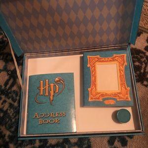 NWOT Harry Potter stationary set